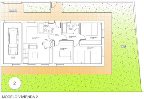 Construcciones y promociones naolsa viviendas disponibles for Planos casas unifamiliares